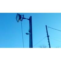 Монтаж видеонаблюдения на авторазборке во Владивостоке