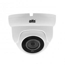 Купольная IP видеокамера, Фиксированный объектив 2.8 мм уличная 2Мп ANVD-2MIRP-20W/2.8 Eco