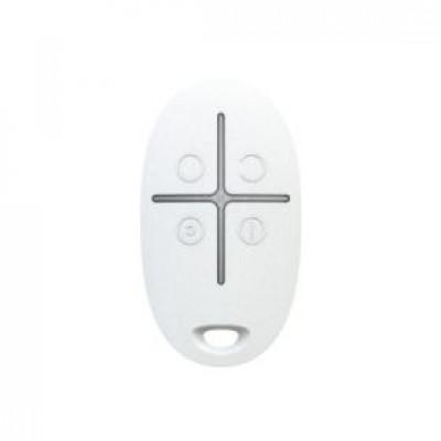 Брелок с тревожной кнопкой Ajax SpaceControl Белый