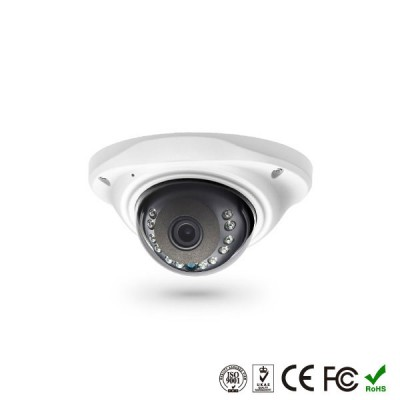H.265+ Купольная антивандальная видеокамера P2P 1080P 2.0MP Full HD IP Camera OC-IPCD300B2 со звуком