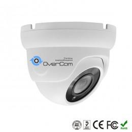 Камера видеонаблюдения (3.6мм) купольная AHD 1920x1080 (2.0MP) OC-AD303C20