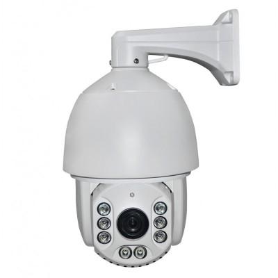 Уличная управляемая PTZ IP камера, 20X Моторизованный Авто Зум, автофокус, 1080P, 4.7-84.6mm  вариофокальный объктив