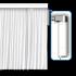 Бесшумный электрокарниз (автоматические шторы) Tuya Smart Curtain. Длина 400 см.