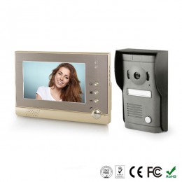 """Видеодомофон (интерком) с функцией фото посетителей 7"""" ZWH-VD975CN"""