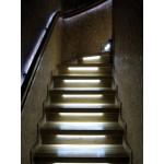 Самостоятельная установка автоматической подсветки ступенек лестницы