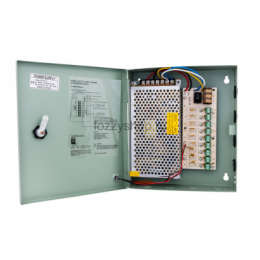 Блок питания 12V 10A  9CH Power Supply