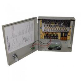 Блок питания в металлическом щитке 12V 3A  4CH Power Supply