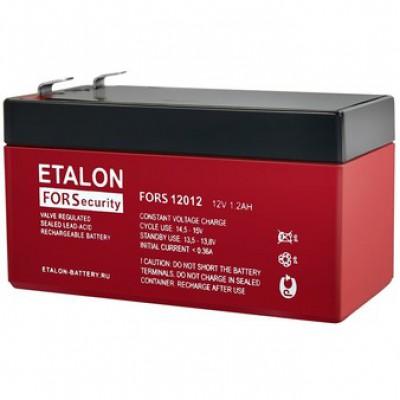 Аккумуляторная батарея ETALON FS 12012 12В 1,2А/ч (12V 1.2Ah)