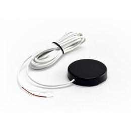 Датчик протечки воды Gidrolock с круглым корпусом WSР2 (кабель 3 метра) цвет черный