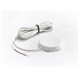 Датчик протечки воды Gidrolock с круглым корпусом WSР2 (кабель 3 метра) белый
