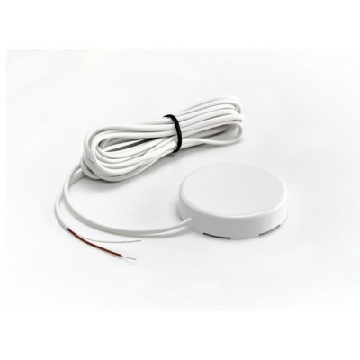 Датчик протечки воды с круглым корпусом WSР2 (кабель 3 метра) белый Гидролок
